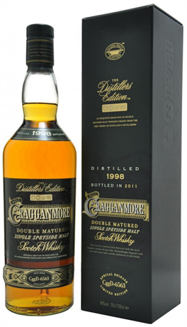 Cragganmore Scotch Single Malt Distillers Edition